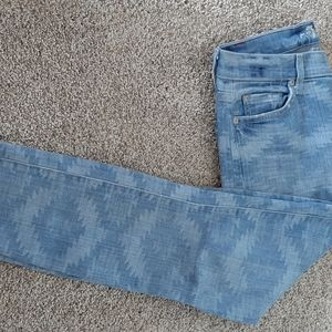 7 For Alll Man Kind The skinny light wash Jean's
